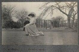 Robin John; Lady Ottoline Morrell, by Philip Edward Morrell - NPG Ax140110