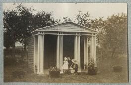 Julian Vinogradoff (née Morrell); Lady Ottoline Morrell, by Philip Edward Morrell - NPG Ax140116