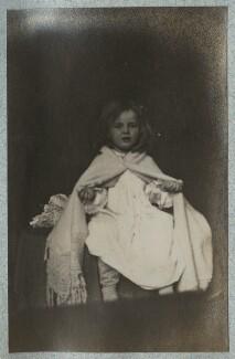 Julian Vinogradoff (née Morrell), by Lady Ottoline Morrell - NPG Ax140122