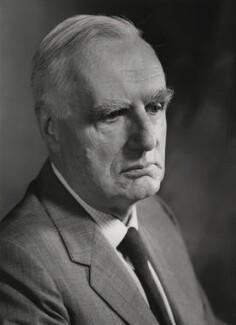 Sir Edward Crisp Bullard, by Godfrey Argent - NPG x4875