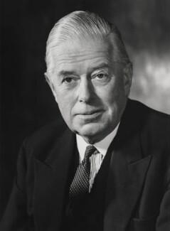 Cameron Fromanteel Cobbold, 1st Baron Cobbold, by Godfrey Argent - NPG x6185