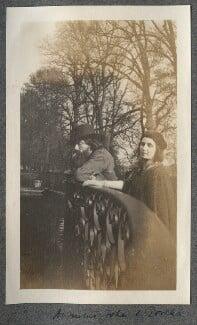 Augustus John; Dorelia McNeill, by Lady Ottoline Morrell - NPG Ax140134