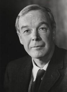 Sir Alan Lloyd Hodgkin, by Godfrey Argent - NPG x21962