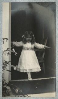Julian Vinogradoff (née Morrell), by Lady Ottoline Morrell - NPG Ax140145