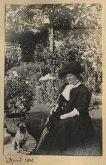 'Oxford Soie' (Harriette Morrell (née Wynter)), by Lady Ottoline Morrell - NPG Ax140151