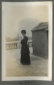 Emily Chadbourne, by Lady Ottoline Morrell - NPG Ax140154