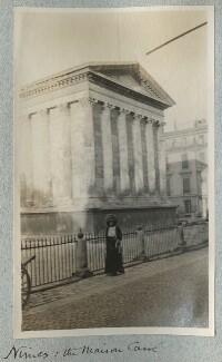 Lady Ottoline Morrell ('Nimes: the Maison Carré'), by Philip Edward Morrell - NPG Ax140175