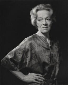 Beatrix Lehmann, by Godfrey Argent - NPG x32548