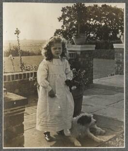 Julian Vinogradoff (née Morrell), by Lady Ottoline Morrell - NPG Ax140185