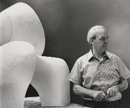Henry Moore, by Godfrey Argent - NPG x21943