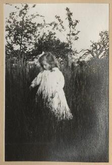 Julian Vinogradoff (née Morrell), by Lady Ottoline Morrell - NPG Ax140190