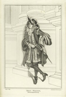 Beau Wilson, probably by Robert Cooper - NPG D20560
