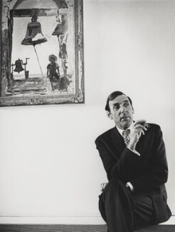Eric Sykes, by Godfrey Argent, 3 February 1970 - NPG x87790 - © National Portrait Gallery, London