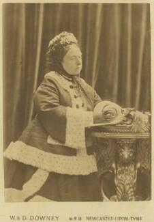 Queen Victoria, by W. & D. Downey - NPG x20128