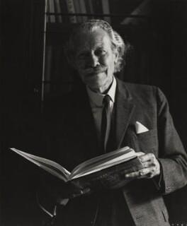 Sir (Robert Eric) Mortimer Wheeler, by Godfrey Argent - NPG x165757