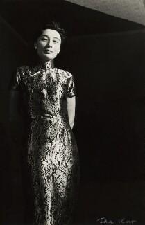 Han Suyin (née Elizabeth Kuanghu Chow, later Comber), by Ida Kar - NPG x127122