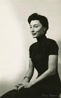 Han Suyin (née Elizabeth Kuanghu Chow, later Comber), by Ida Kar - NPG x127123