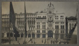 St Mark's Square, by Lady Ottoline Morrell - NPG Ax140198