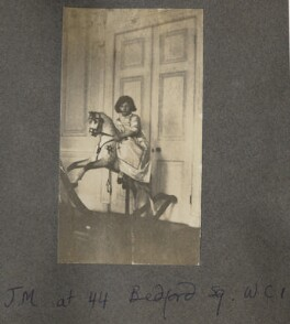 Julian Vinogradoff (née Morrell), by Lady Ottoline Morrell - NPG Ax140200