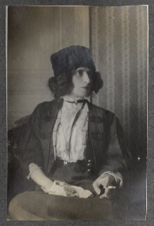 Lady Ottoline Morrell, possibly by Lady Ottoline Morrell - NPG Ax140211