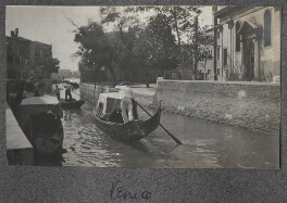 View of Venice, by Lady Ottoline Morrell - NPG Ax140214