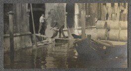 Canal in Venice, by Lady Ottoline Morrell - NPG Ax140237