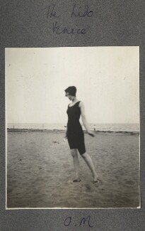 Lady Ottoline Morrell ('The Lido'), by Philip Edward Morrell - NPG Ax140240