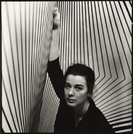Bridget Riley, by Ida Kar, 1963 - NPG  - © National Portrait Gallery, London