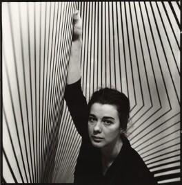 Bridget Riley, by Ida Kar, 1963 - NPG  - © National Portrait Gallery, London