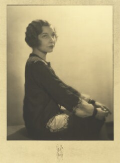 Louise Browne, by Rayhuff Richter - NPG x127081