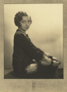 Louise Browne, by Rayhuff Richter - NPG x127083