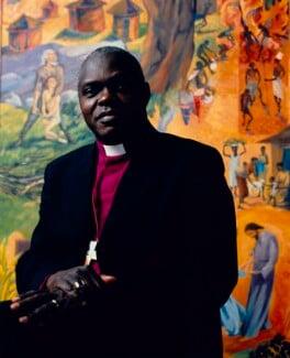 John Sentamu, by Sal Idriss, September 2004 - NPG x127164 - © Sal Idriss / National Portrait Gallery, London