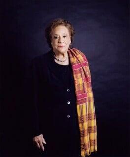 Dame Jocelyn Anita Barrow, by Sal Idriss - NPG x127165