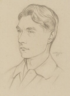 John Drinkwater, by William Rothenstein - NPG 6708