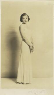 Louise Browne, by H. Richardson Trenner (?) - NPG x127072