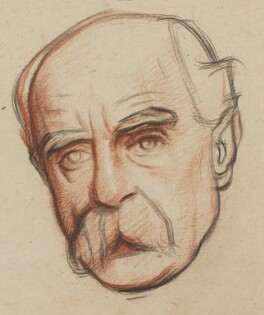 Sir Francis Edward Younghusband, by William Rothenstein - NPG 6714