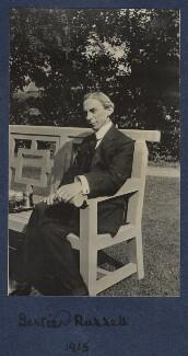Bertrand Russell, by Julian Vinogradoff (née Morrell) - NPG Ax140440