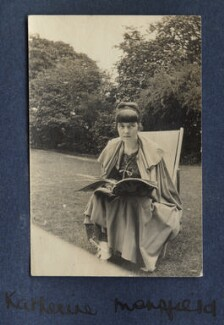 Katherine Mansfield, by Lady Ottoline Morrell - NPG Ax140568