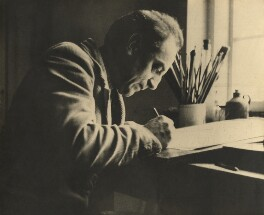 John Nash, by Unknown photographer, circa 1930 - NPG x127169 - © National Portrait Gallery, London