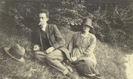 John Nash; Christine Kühlenthal, by Unknown photographer - NPG x127173