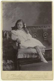 Christine Kühlenthal, by W. Goshawk - NPG x127185