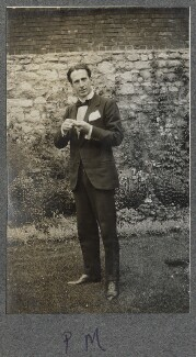 Philip Edward Morrell, by Lady Ottoline Morrell - NPG Ax140307