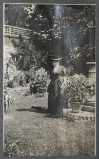 Harriette Morrell (née Wynter), by Lady Ottoline Morrell - NPG Ax140309