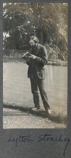 Lytton Strachey, by Lady Ottoline Morrell, 1911-1912 - NPG Ax140336 - © National Portrait Gallery, London
