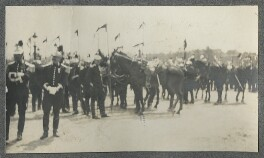 Horse Guards, by Lady Ottoline Morrell - NPG Ax140352