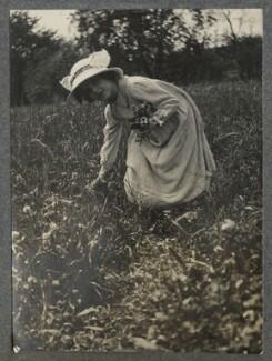 Julian Vinogradoff (née Morrell), by Lady Ottoline Morrell - NPG Ax140358