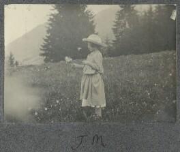 Julian Vinogradoff (née Morrell), by Lady Ottoline Morrell - NPG Ax140359