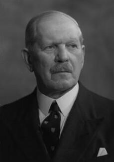 Sir George van Baerle Gillan, by Bassano Ltd - NPG x170540
