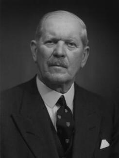 Sir George van Baerle Gillan, by Bassano Ltd - NPG x170543