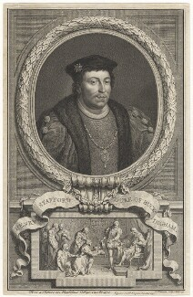 Edward Stafford, 3rd Duke of Buckingham, by Jacobus Houbraken - NPG D20570